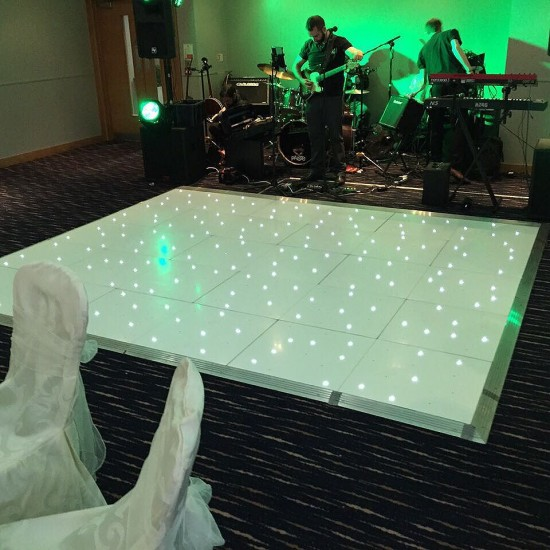 Tonight #leddancefloor in the #clandeboyeLodge Viceroy suite.