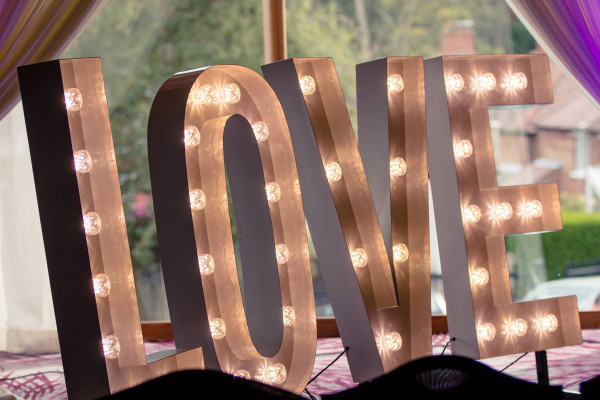 create that wow factor with our fabulous light up letters