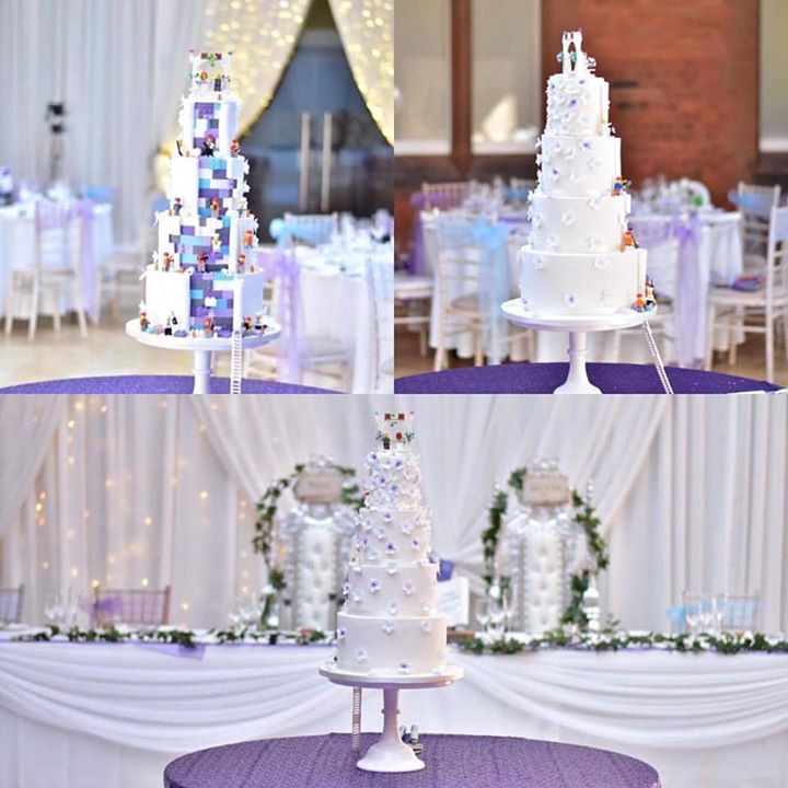 Wow look how amazing this cake is. It's unreal and the colou...