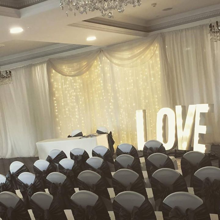 Our light up Love letters instantly fill your wedding day fu...