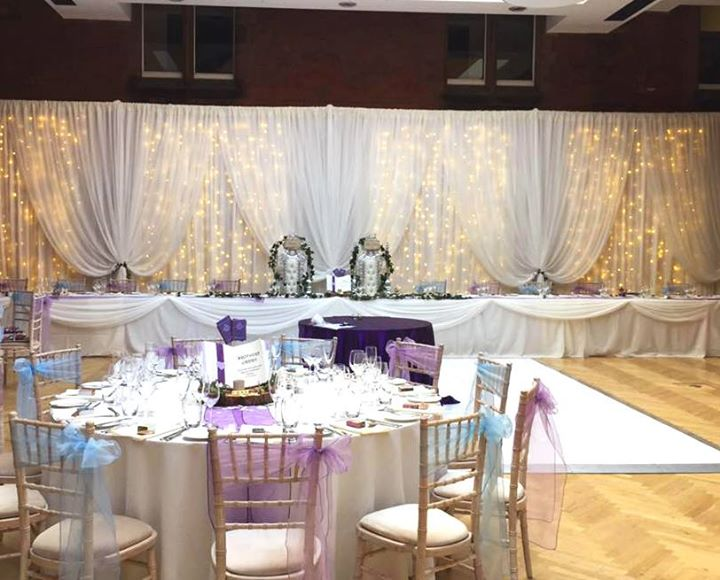 Riddel Hall Wedding styling by Elite Events NI
