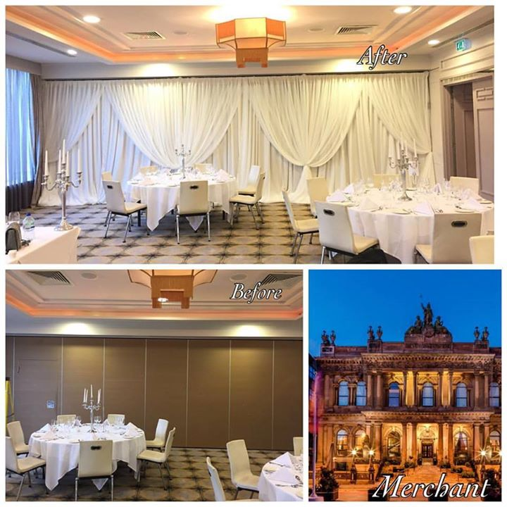 The Merchant Hotel right in the heart of Belfast city is a s...
