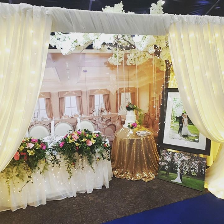 A little stand dressing for the stunning Corick House Hotel ...