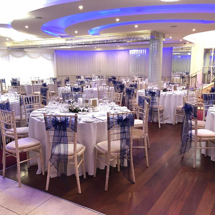 Our limewash chiavari chairs looked simply gorgeous in the O...