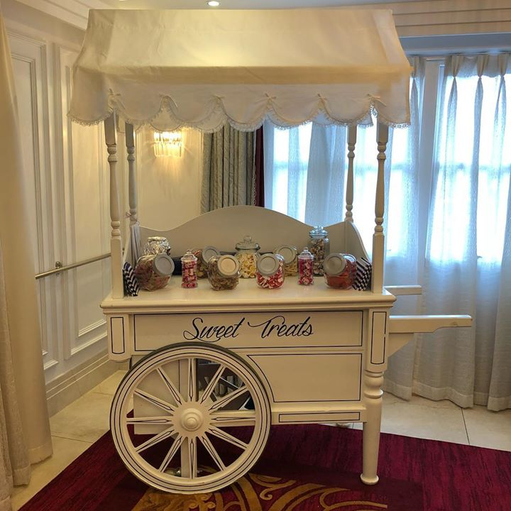 Keeping your guests and you sweet. We can also set up candy ...