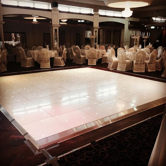 #leddancefloor #balmoral Belfast. #weddings #firstdance