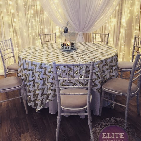 Wedding or Event decor with a hit of gold & white. #africantheme #indianwedding #roomdressing #tablelinen #venuedecor #corporate styling #party nights.